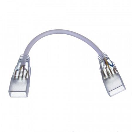 Купить Коннектор двухсторонний для лед лент 220V 5mm/провод 2pin