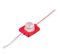 Модуль инжекторный светодиодный красный 12V smd3030 1LED 1.5W IP65